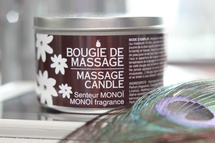Bernard Cassière geurkaars waarmee je kunt masseren!