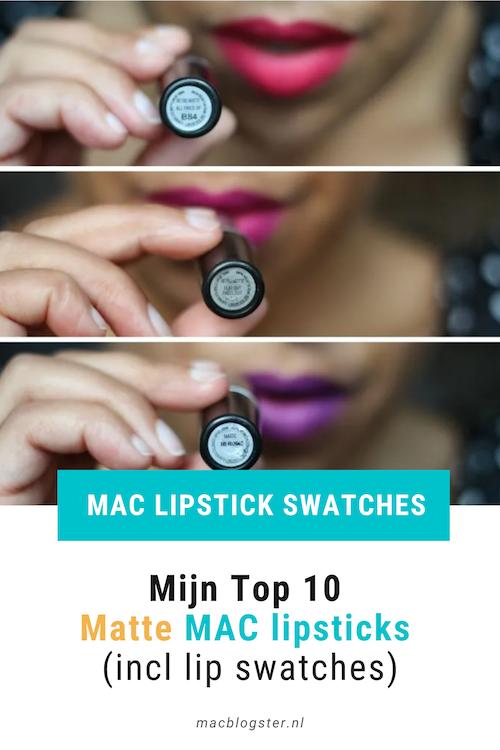 Matte MAC lipsticks: Once you go black, you never go back