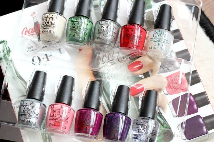 Limited edition OPI Coca-Cola nagellak