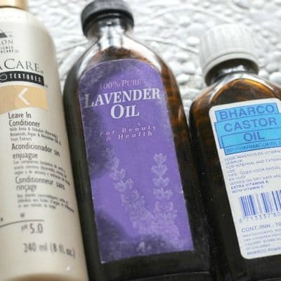 Snel klaar met LOC methode: DIY Castor Oil Conditioning Spray