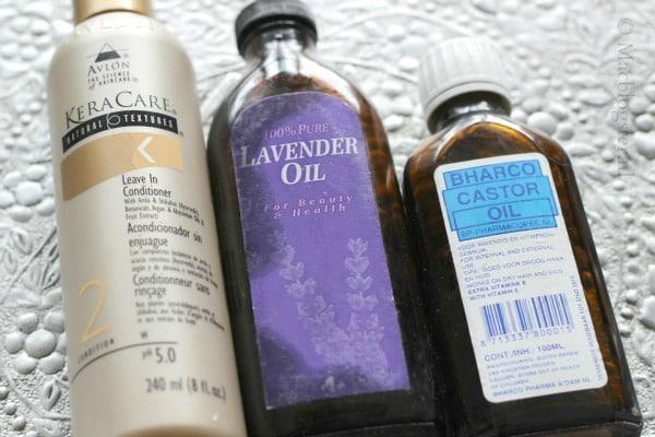 Snel klaar met LCO methode: DIY Castor Oil Conditioning Spray