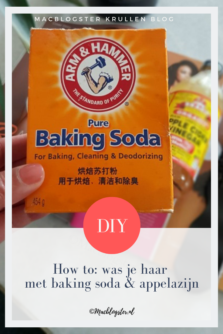 How to: haar wassen met baking soda & appelazijn