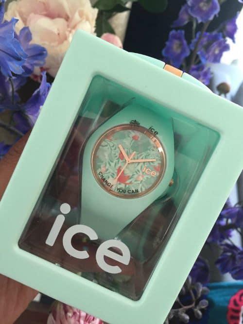 Mijn nieuwe mooie horloge: ICE Watch Flower Eden