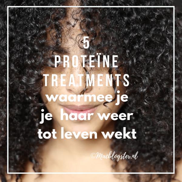 5 Proteïne treatments waarmee je je haar opnieuw tot leven wekt