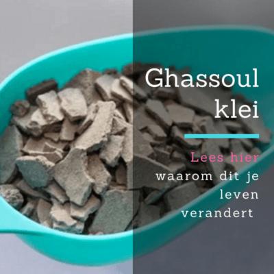 Ghassoul haarmasker met kokosmelk & cacaoboter