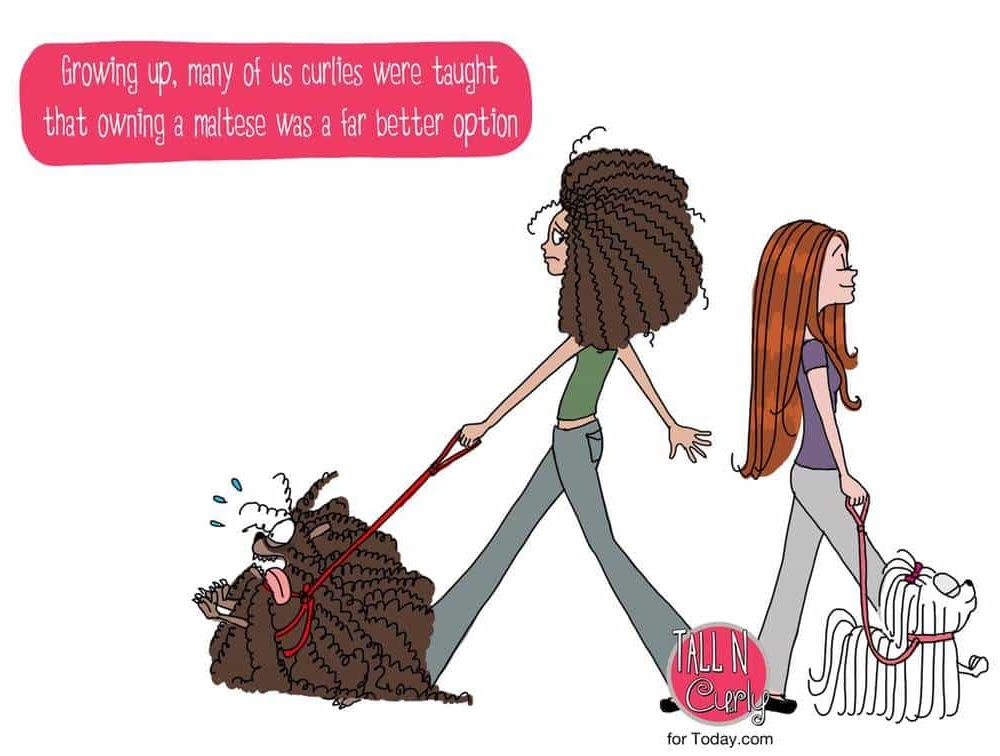Living the Curly Life: Tem 'het Beest'