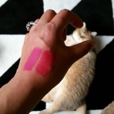 Etos lipstick Summer Sweet dupe MAC Flat Out Fabulous