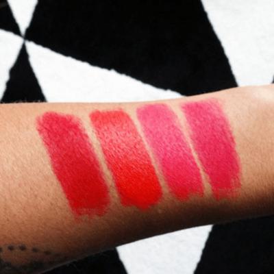 All Fired Up: Mijn MAC Matte Red Lipsticks – het verschil