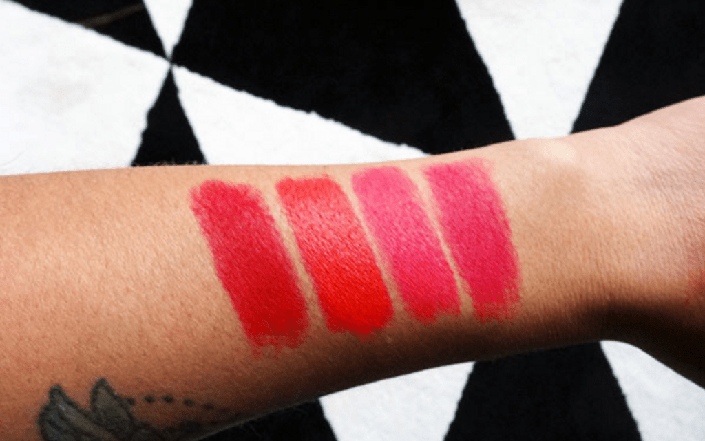 All Fired Up: Mijn MAC Matte Red Lipsticks – het verschil