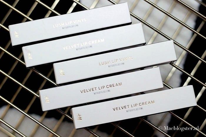 H&M Liquid Lipsticks: Velvet Lip Cream & Lush Lip Vinyl