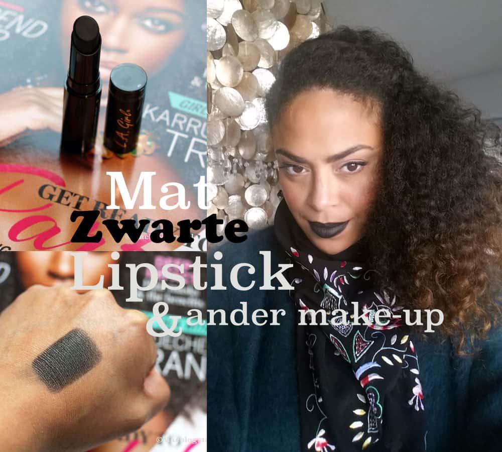 Shoplog: Mat zwarte lipstick & unboxing make-up pakketjes