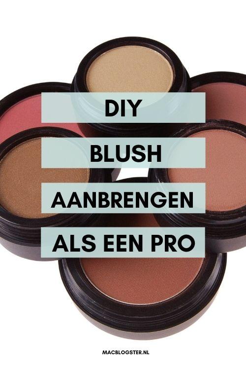 DIY Blush aanbrengen
