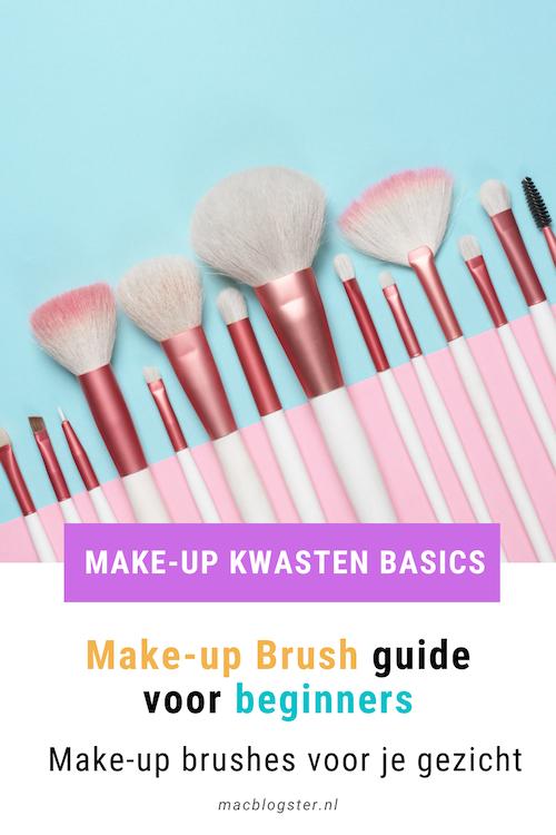 Make-up Brush guide voor beginners: make-up brushes voor je gezicht