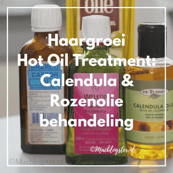 Deze hot oil treatment laat je haar groeien: Calendula & Rozenolie behandeling