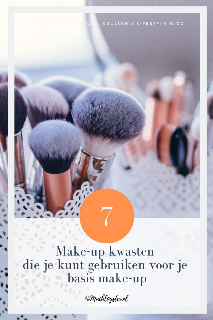 Make-up kwasten die je kunt gebruiken voor je basis make-up