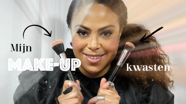 Make-up kwasten die ik voor mijn gezicht gebruik