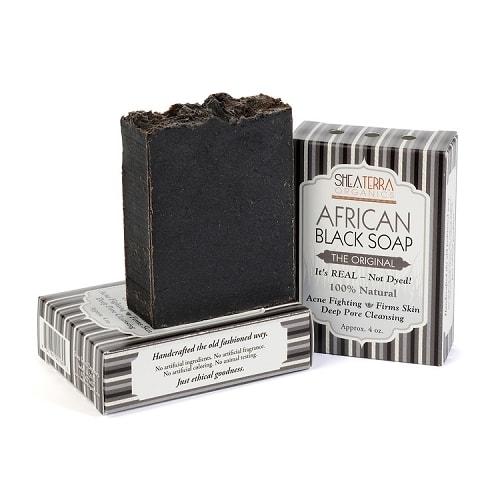 Is black soap goed voor je haar?