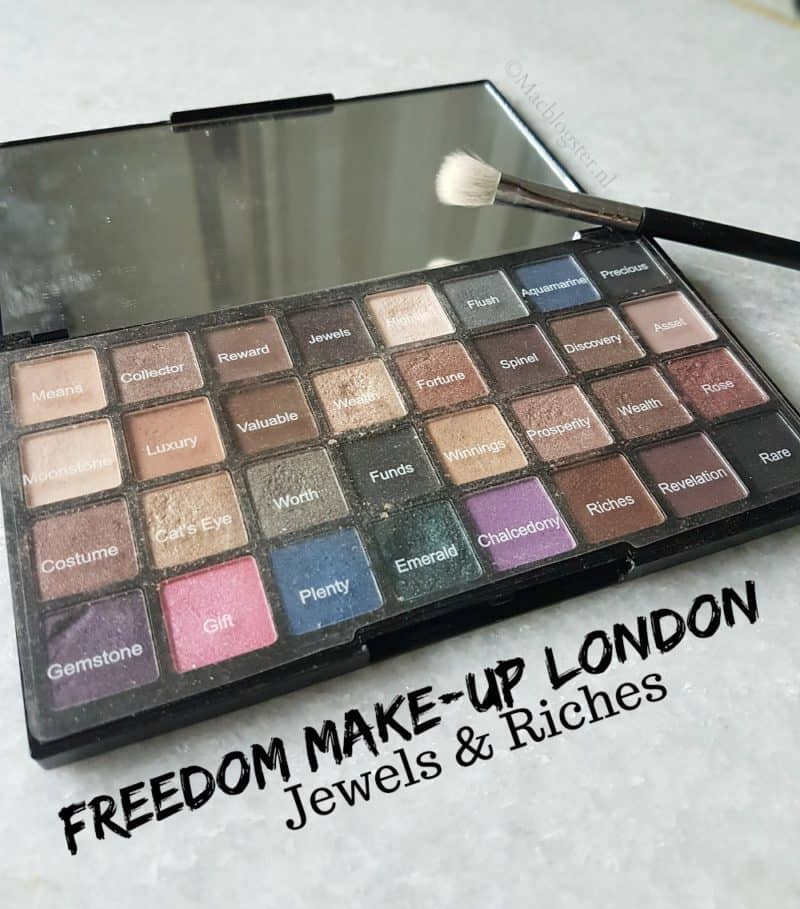 Freedom Makeup London Jewels & Riches oogschaduw palette