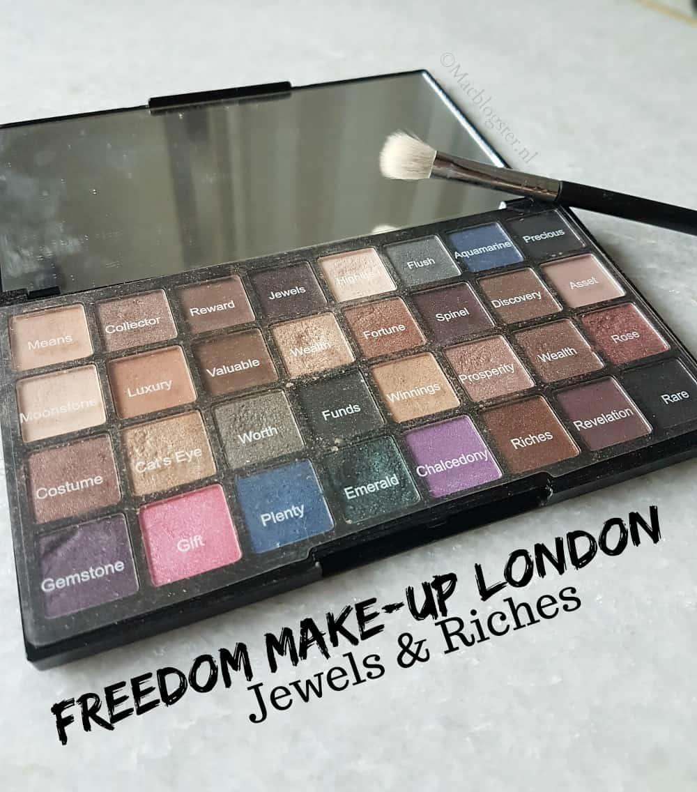Freedom Makeup Oogschaduw Palette: top pigmentatie voor een klein prijsje