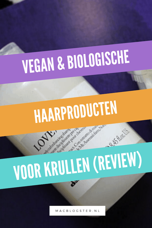 Vegan & biologische haarproducten voor krullen: Davines review