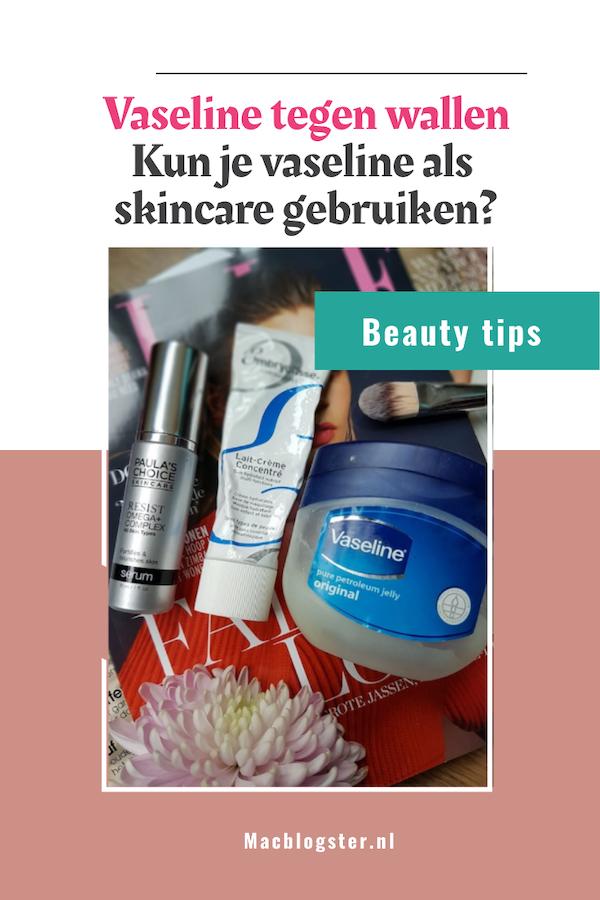 Vaseline voor je gezicht