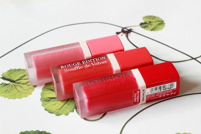 Bourjois Souffle de Velvet Rouge Edition: chic & subtiel