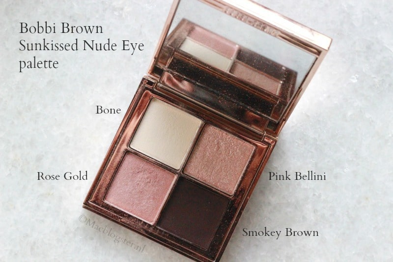 Bobbi Brown Sunkissed Nude Eye Palette Full Face Look
