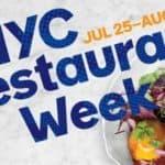 NYC Restaurant week 2016 zomer editie