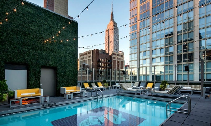Travel: de 5 meest adembenemende rooftop pools