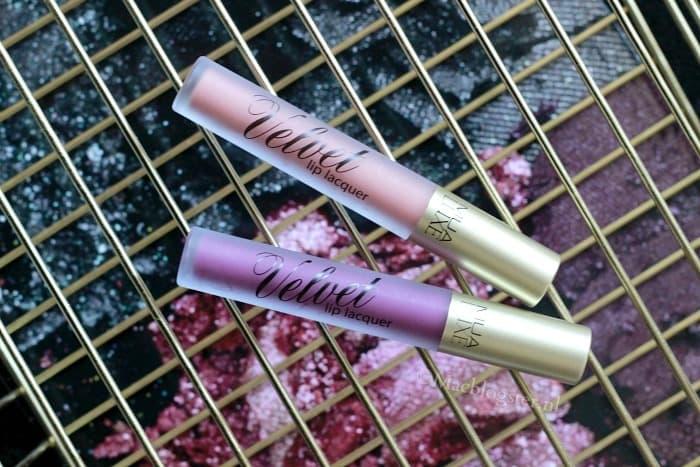 MUA Luxe Velvet Liquid Lip Lacquers