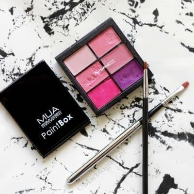 Sneak Peek: MUA Paint Box vs MAC Pro Lip Palette