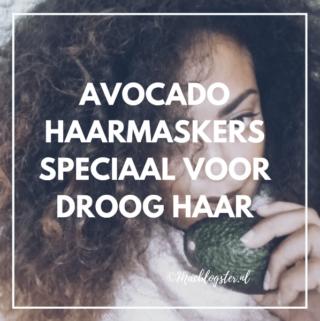Avocado haarmaskers speciaal voor droog haar