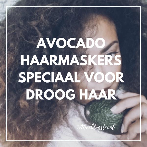 avocado masker voor droge krullen en droog kroeshaar