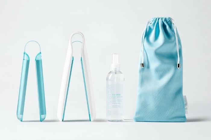 Inverse conditioning system: ijs gebruiken voor je haar