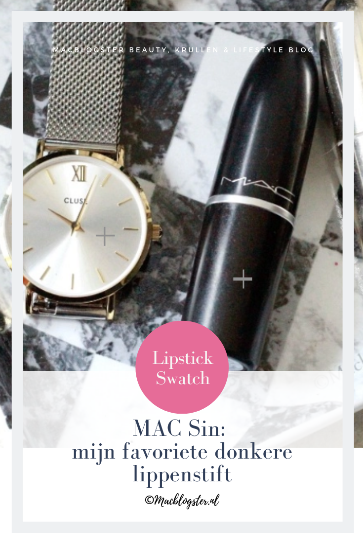 MAC Sin: mijn favoriete donkere lippenstift