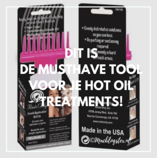 Dit is de musthave tool voor je hot oil treatments: Roots Only Applicator!