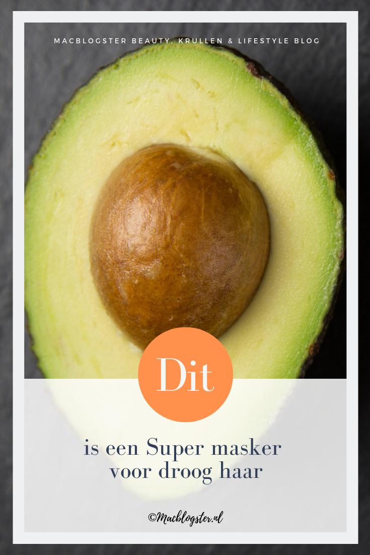 Gebruik DIT avocado haarmasker als je droog haar hebt