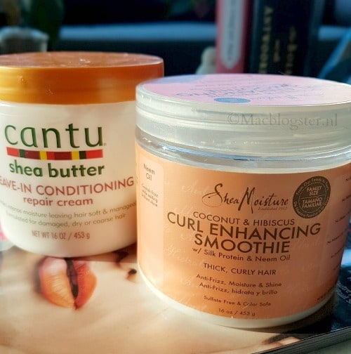 Combi review: Cantu & Shea Moisture Curl Enhancing Smoothie