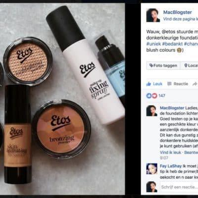 Etos Make-up Newsflash: Nieuwe Producten