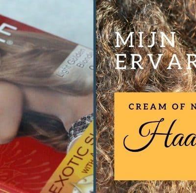 Cream of Nature Exotic Shine Color haarverf: Light Golden Blonde