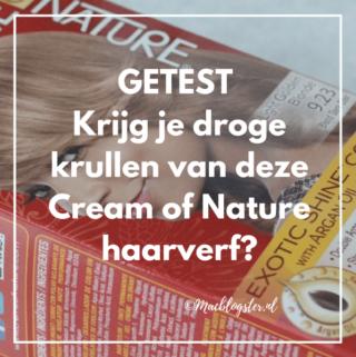 Getest: krijg je droge krullen van deze Cream of Nature haarverf?