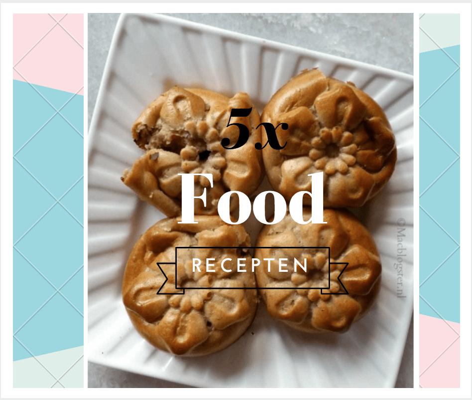 5x Food recepten waar je blij van wordt