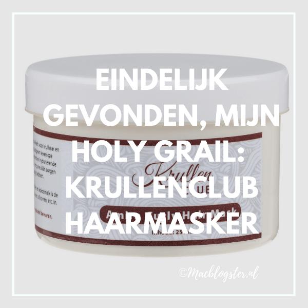 Ik heb mijn Holy Grail gevonden! Review: Amira Krullenclub Haarmasker