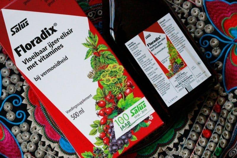 Floradix ijzer-elixer: tegen vermoeidheid en slecht slapen