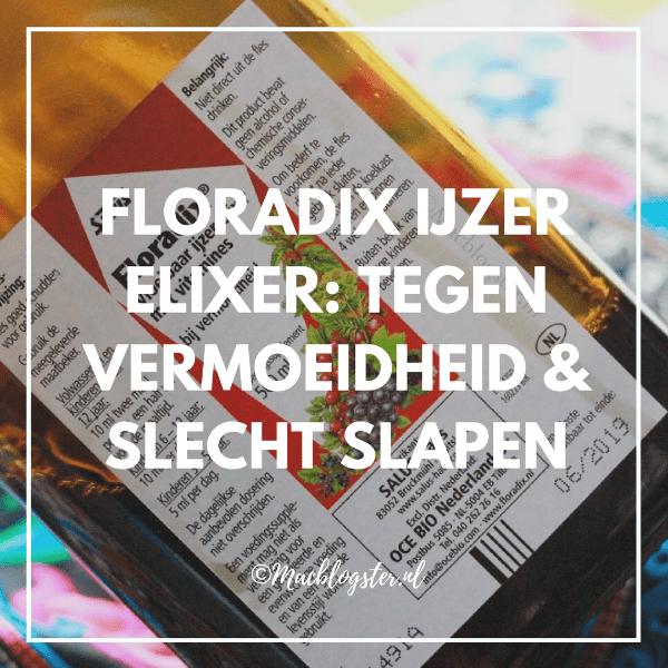 Floradix ijzer-elixer: tegen vermoeidheid & slecht slapen