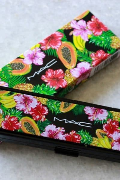 MAC Fruity Juicy Love in the Glades oogschaduw palette