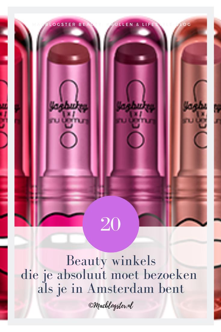 20 Make-up & Beauty winkels in Amsterdam die je absoluut moet bezoeken