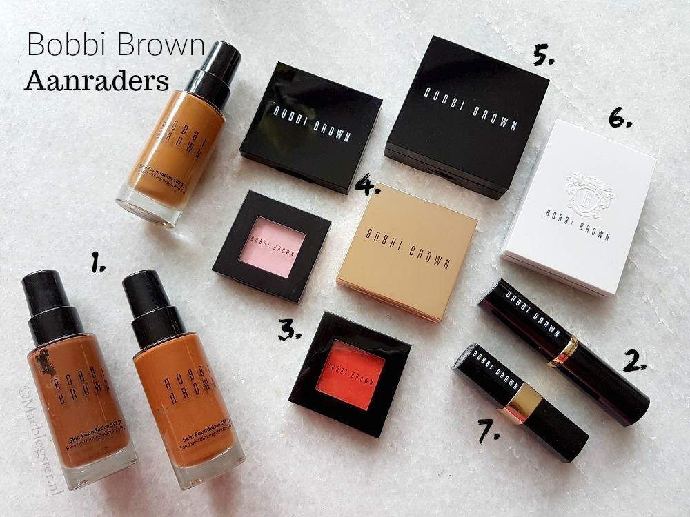 Bobbi Brown make-up: mijn aanraders