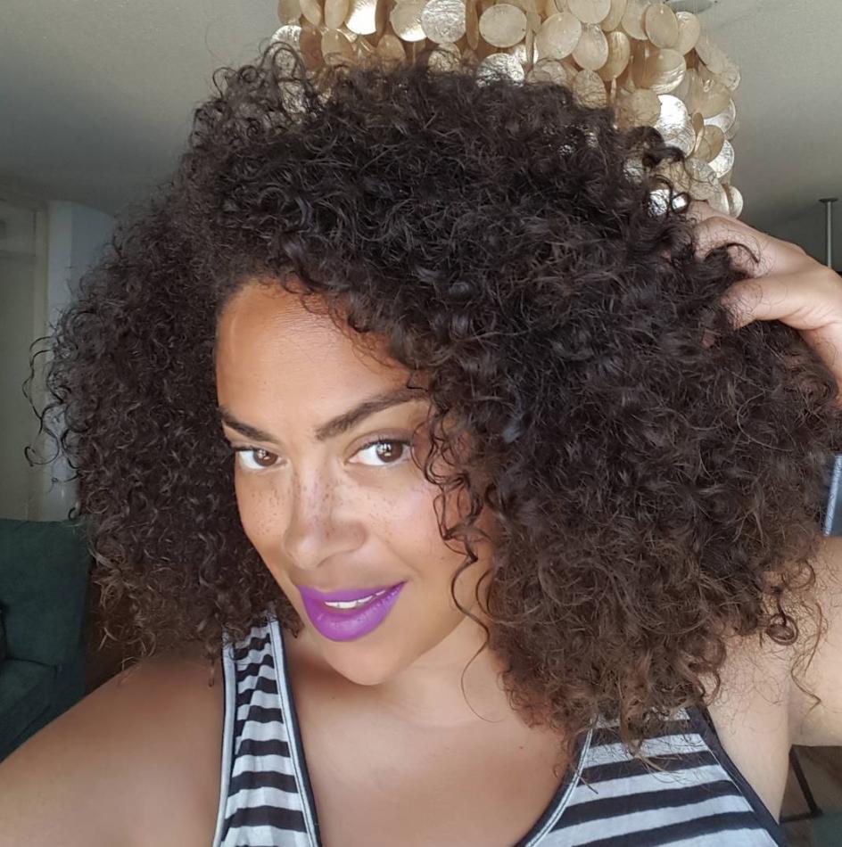 Ik viel steil achterover van deze leave-in conditioner: Curls Blueberry Bliss
