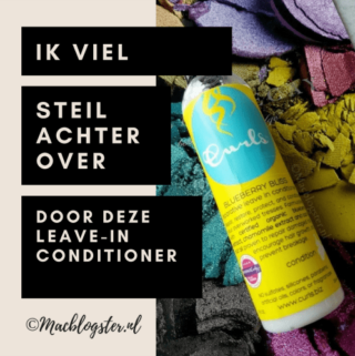 Ik viel steil achterover van deze leave-in conditioner: Curls Blueberry Bliss